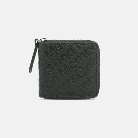 Stella McCartney Green Eco Alter Nappa Embossed Wallet-Womens Wallet-Stella McCartney-Unicorn Goods