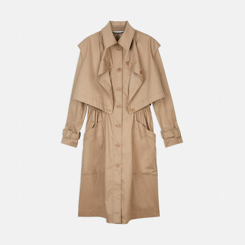 Stella McCartney Hailey Trench Coat-Womens Coat-Stella McCartney-Unicorn Goods