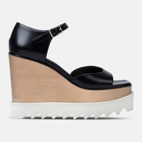 Stella McCartney HighBlack Elyse Sandals-Womens Sandals-Stella McCartney-Unicorn Goods