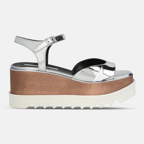 Stella McCartney Indium Elyse Star Sandals-Womens Sandals-Stella McCartney-Unicorn Goods