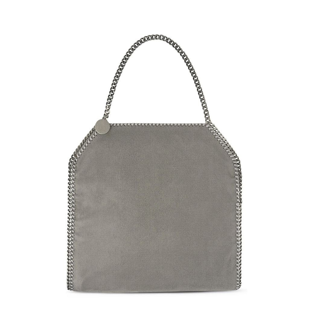 f3f902985b Stella McCartney Light Grey Falabella Shaggy Deer Big Tote-Womens Tote-Stella  McCartney- ...