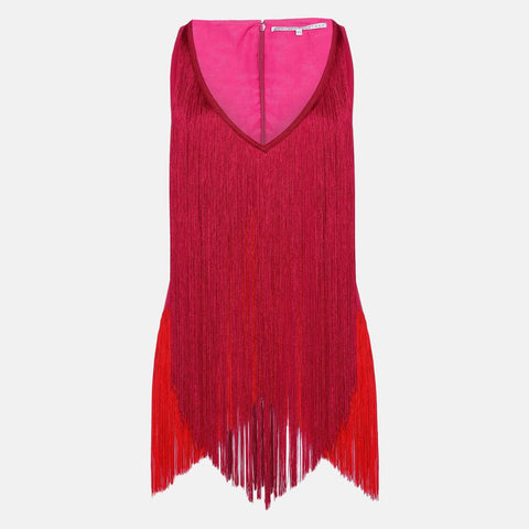 Stella McCartney Mabel Fringe Top-Womens Shirt-Stella McCartney-Unicorn Goods