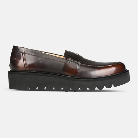 Stella McCartney Men's Flat Shoes in Ebony-Mens Loafers-Stella McCartney-Unicorn Goods