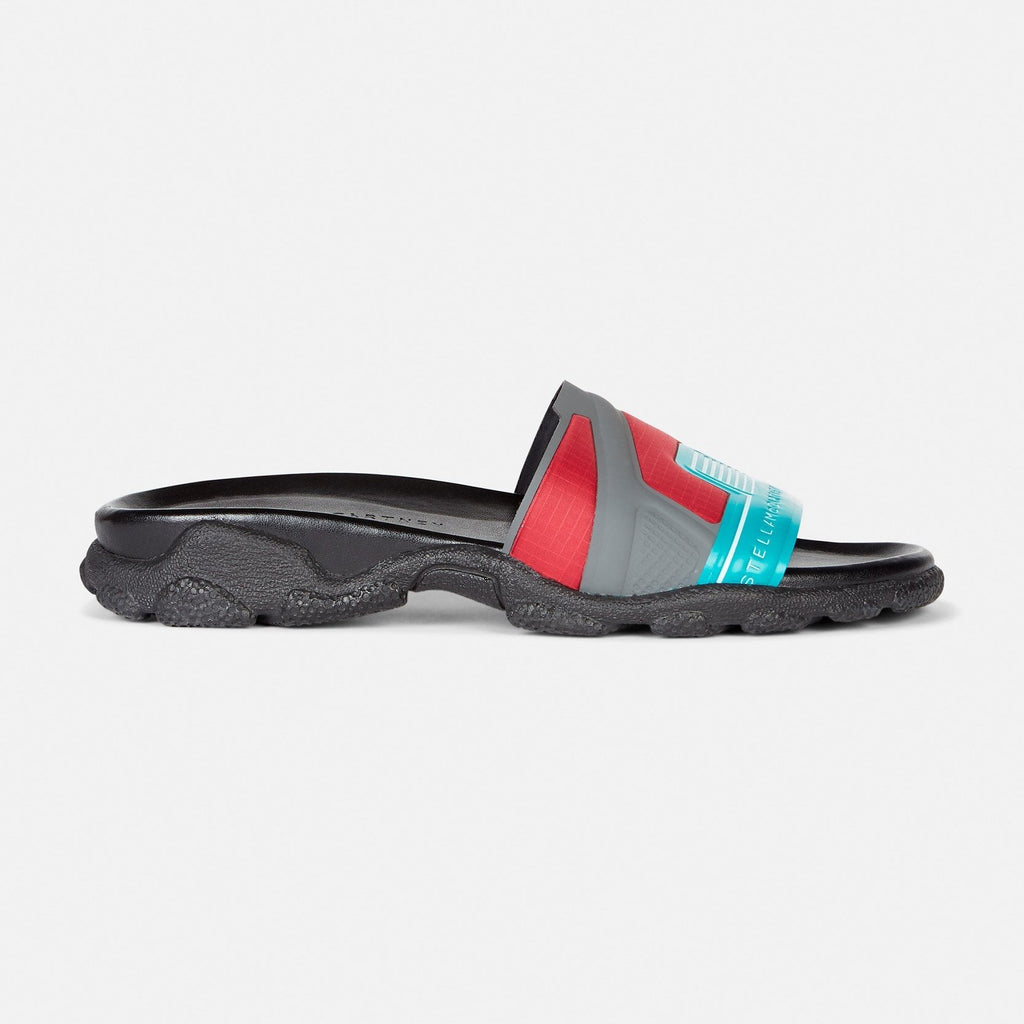 Stella McCartney Multicolour Slides-Womens Sandals-Stella McCartney-Unicorn Goods