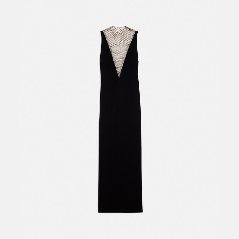 a6e4f8e31fd51 Stella McCartney Naomi Black Evening Dress-Womens Long Dress-Stella  McCartney-Unicorn Goods