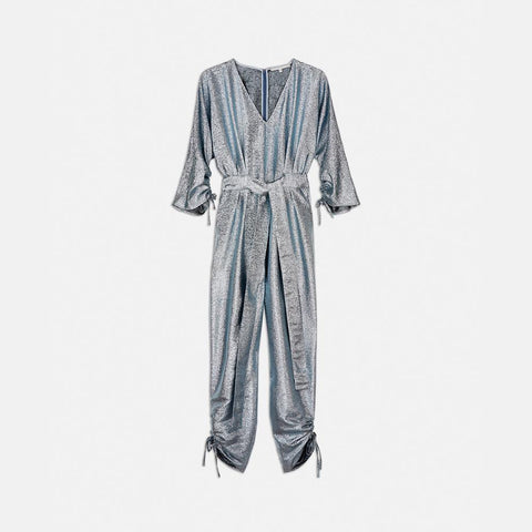 Stella McCartney Padma Lurex Jumpsuit-Womens Jumpsuit-Stella McCartney-Unicorn Goods