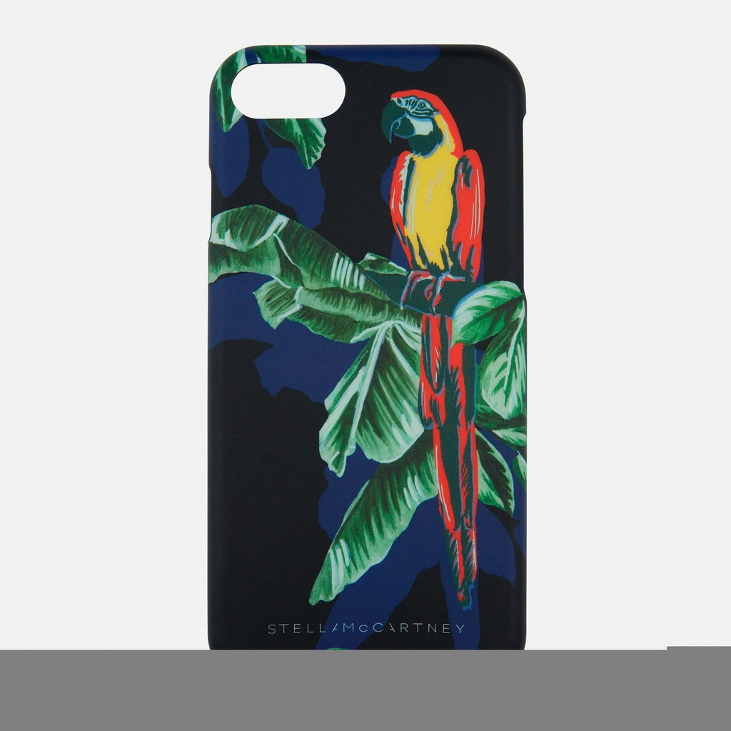 Stella McCartney Paradise iPhone 7 Case in Black-Womens Tech Case-Stella McCartney-Unicorn Goods