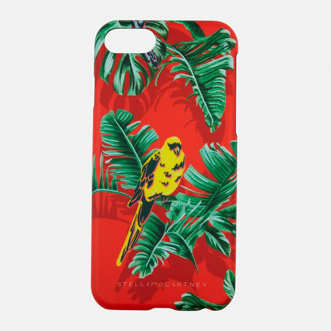 Stella McCartney Paradise iPhone 7 Case in Red-Womens Tech Case-Stella McCartney-Unicorn Goods