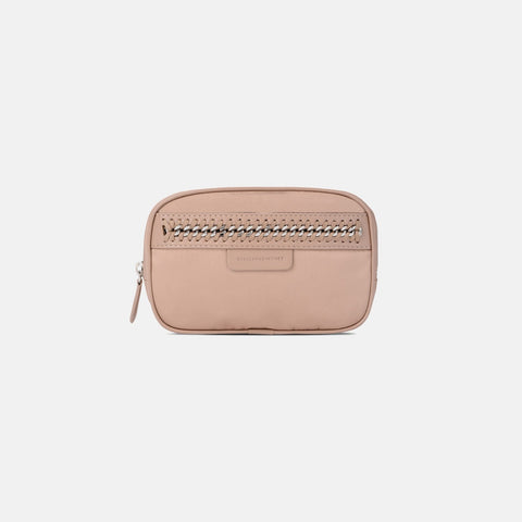 Stella McCartney Powder Pink Falabella GO Cosmetic Case-Makeup - Tools-Stella McCartney-Unicorn Goods