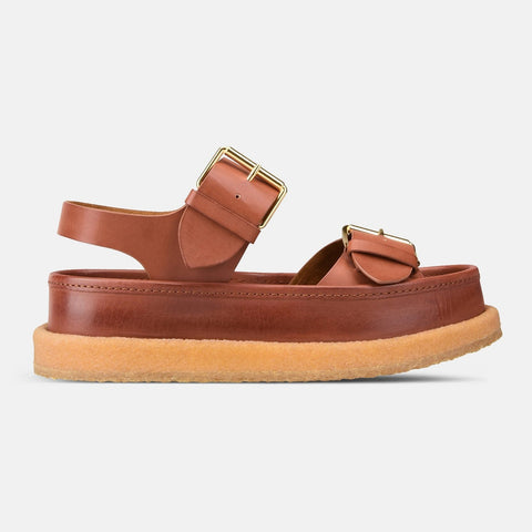 Stella McCartney Praline Buckle Sandals-Womens Sandals-Stella McCartney-Unicorn Goods