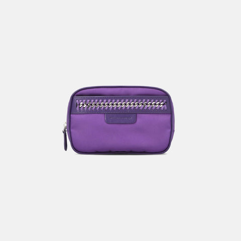 Stella McCartney Purple Falabella GO Cosmetic Case-Makeup - Tools-Stella McCartney-Unicorn Goods