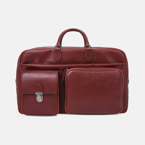 Stella McCartney Red Business Travel Bag-Unisex Briefcase-Stella McCartney-Unicorn Goods