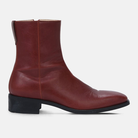 8d6a9497d91d Stella McCartney Red Polished Boots