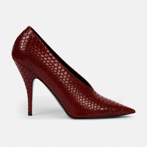 Stella McCartney Red Woven Pumps-Womens Pumps-Stella McCartney-Unicorn Goods