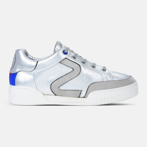 Stella McCartney Silver Stella Sneakers-Womens Sneakers-Stella McCartney-Unicorn Goods
