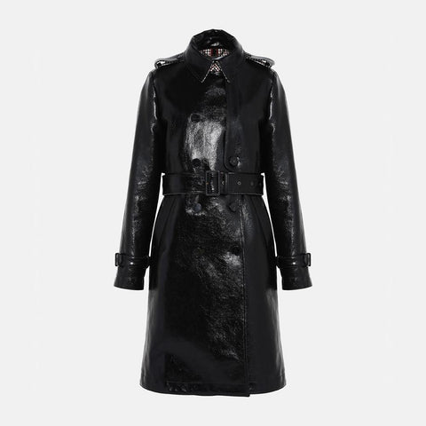 Stella McCartney Skin Free Skin Michaela Trench Coat-Womens Coat-Stella McCartney-Unicorn Goods