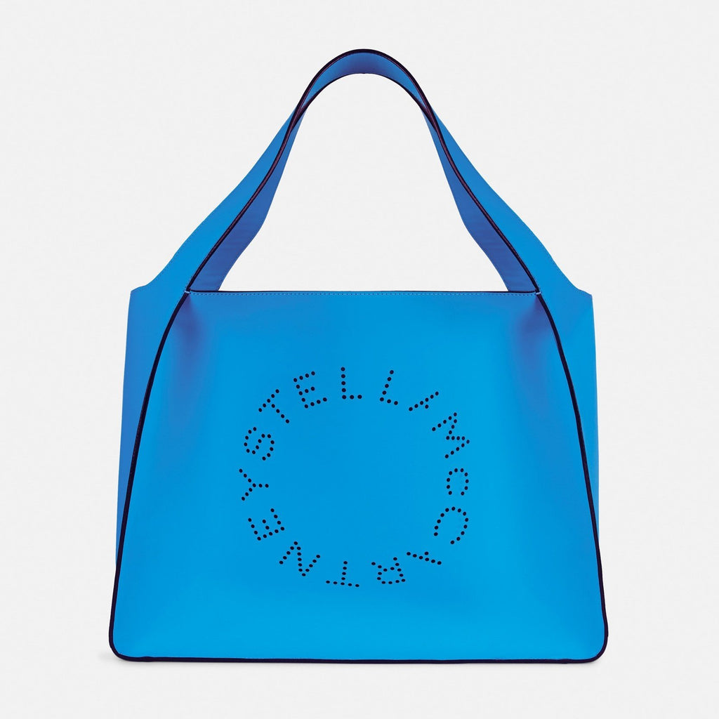 Stella McCartney Stella Logo Tote Bag in Blue – Unicorn Goods 081696e364