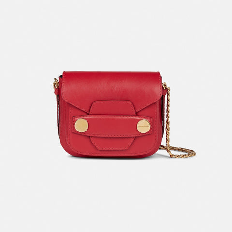 Stella McCartney Stella Popper Mini Bag in Red-Womens Purse-Stella McCartney-Unicorn Goods