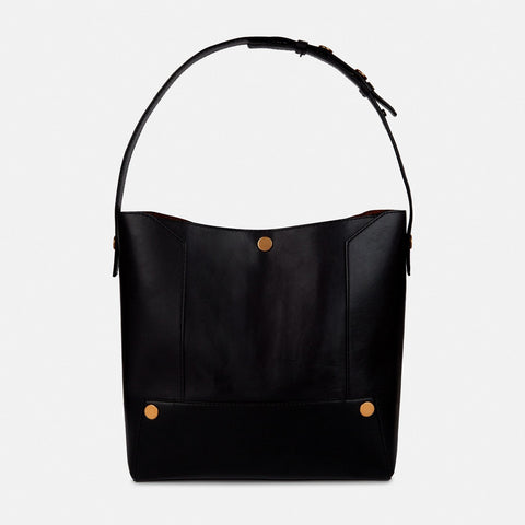 92e87eb932 Stella McCartney Stella Popper Small Hobo Bag in Black