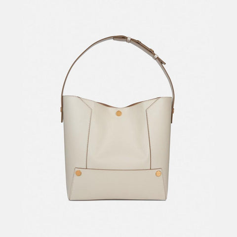 Stella McCartney Stella Popper Small Hobo Bag in White-Womens Purse-Stella McCartney-Unicorn Goods