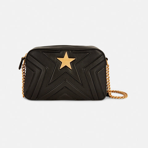 9bd34fdd11 Stella McCartney Stella Star Small Shoulder Bag in Black