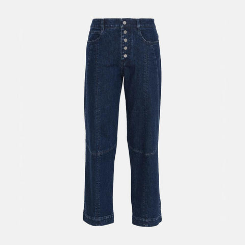 Stella McCartney Straight Cropped Denim Jeans-Mens Jeans-Stella McCartney-Unicorn Goods