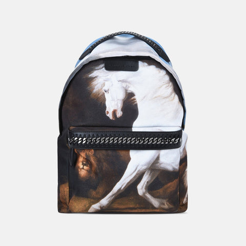 Stella McCartney Stubbs Falabella Go Backpack-Womens Backpack-Stella McCartney-Unicorn Goods