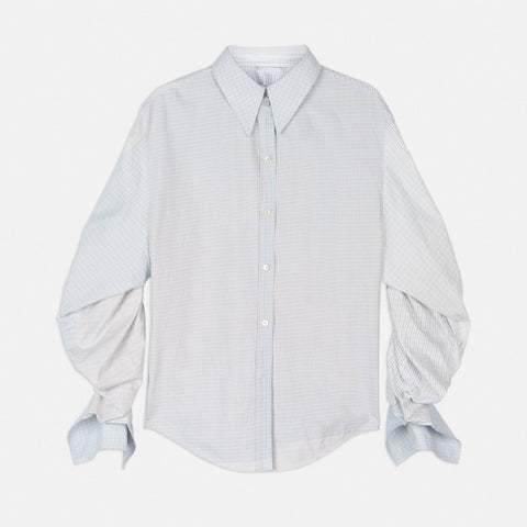 Stella McCartney Thandie Check Shirt-Womens Shirt-Stella McCartney-Unicorn Goods