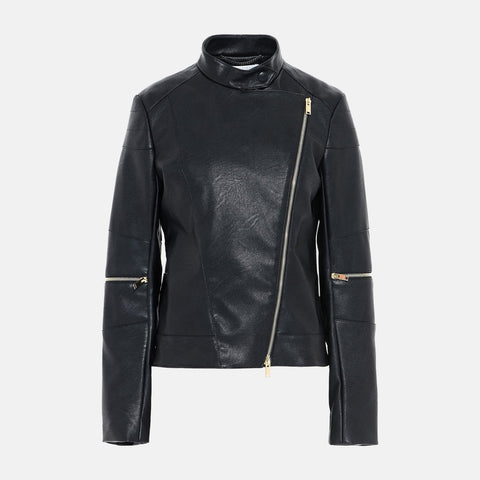 Stella McCartney Victoire Skin Free Skin Leather Jacket-Womens Jacket-Stella McCartney-Unicorn Goods