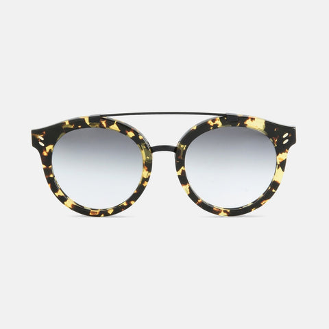 Stella McCartney Vintage Dark Havana Round Frame Sunglasses-Womens Sunglasses-Stella McCartney-Unicorn Goods