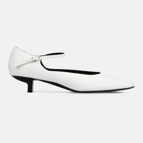 305023cb9d1e Stella McCartney White Mary Jane Alter Nappa Pumps