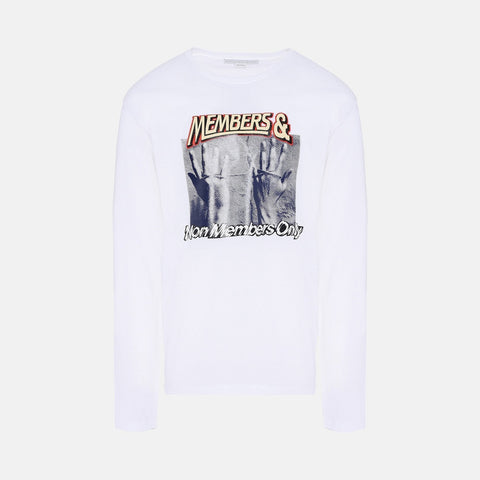 Stella McCartney White Printed T-Shirt-Mens T-shirt-Stella McCartney-Unicorn Goods