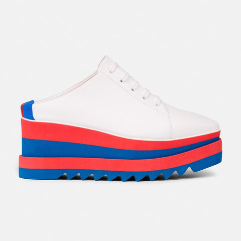 Stella McCartney White Sneak-Elyse Mule-Womens Sneakers-Stella McCartney-Unicorn Goods