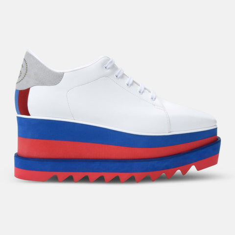 Stella McCartney White Sneak-Elyse-Womens Sneakers-Stella McCartney-Unicorn Goods