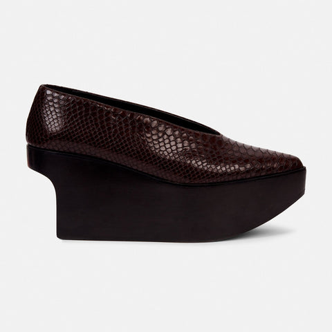 Stella McCartney Woven Modern Clogs in Brown-Womens Slip-Ons-Stella McCartney-Unicorn Goods