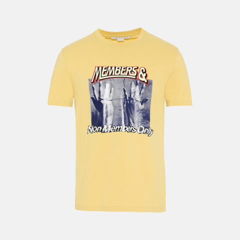 Stella McCartney Yellow Printed T-Shirt-Mens T-shirt-Stella McCartney-Unicorn Goods