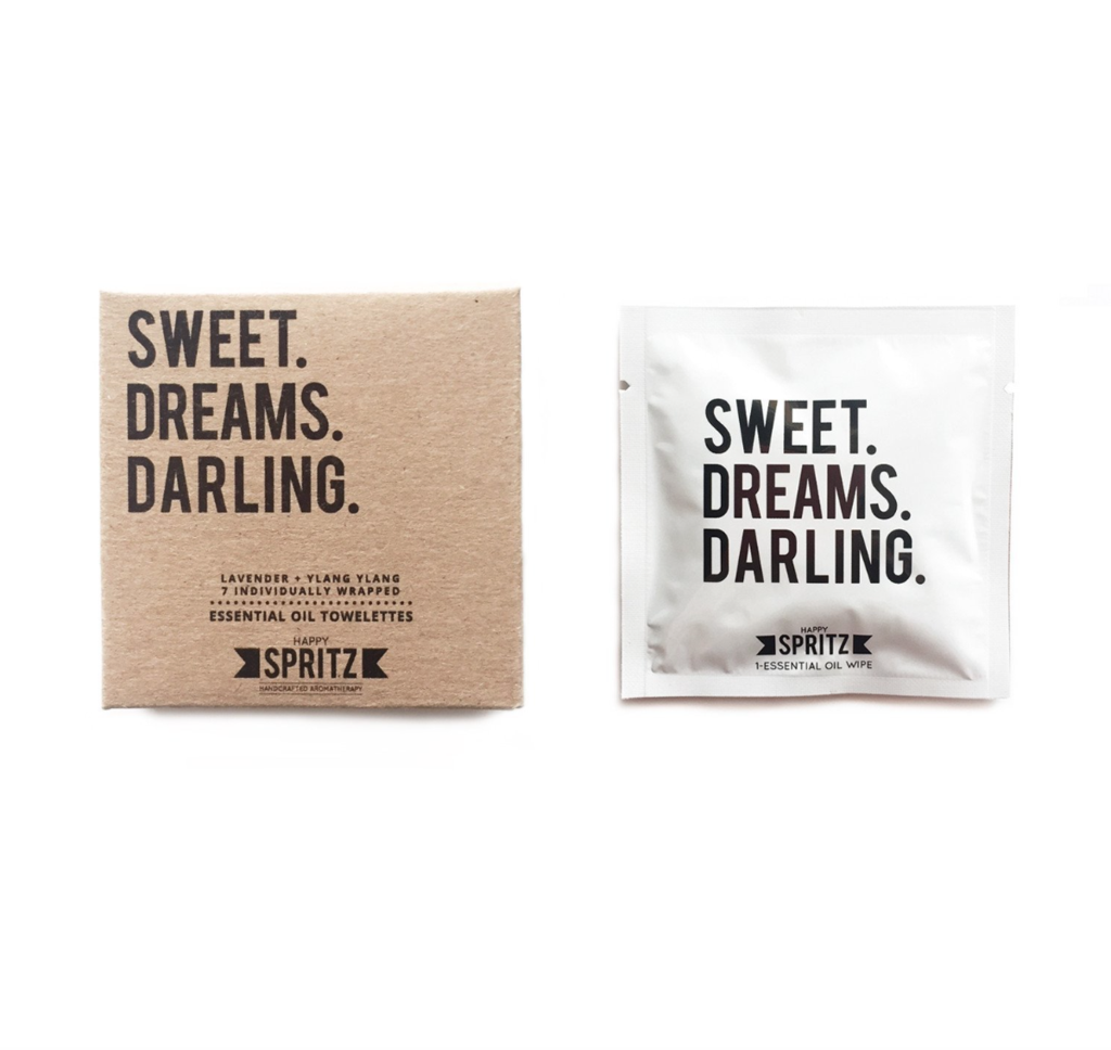 Sweet Dreams Darling Essential Oil Towelettes (7 Day Box)-Unisex Skincare-Amanda Jay-Unicorn Goods