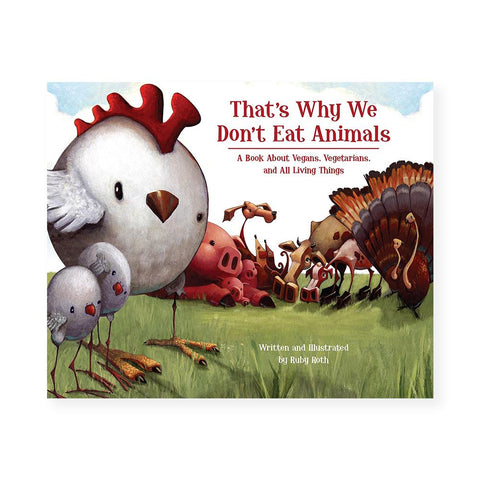 That's Why We Don't Eat Animals-Kids - Book-Amazon-Unicorn Goods