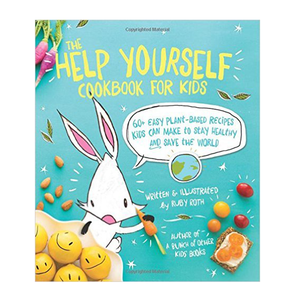 The Help Yourself Cookbook for Kids-Kids - Book-Amazon-Unicorn Goods