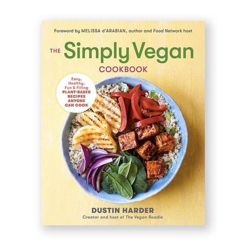 The Simply Vegan Cookbook-Cookbook-Amazon-Unicorn Goods