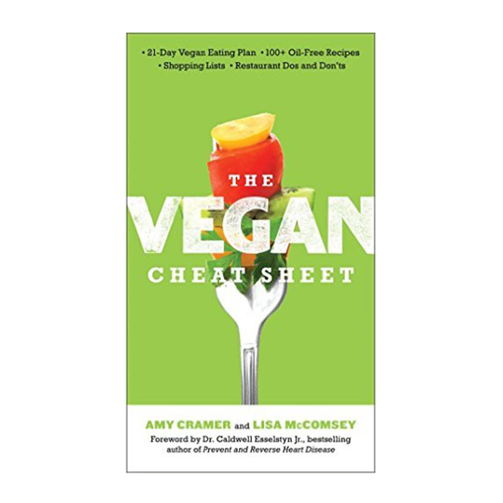 The Vegan Cheat Sheet-Cookbook-Amazon-Unicorn Goods