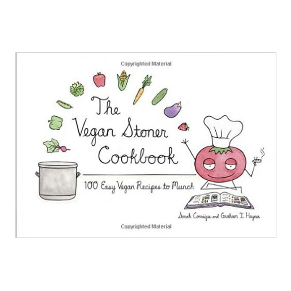 The Vegan Stoner Cookbook-Cookbook-Amazon-Unicorn Goods