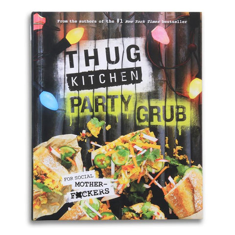 Thug Kitchen Party Grub-Cookbook-Amazon-Unicorn Goods