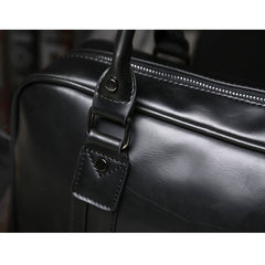Tokyo Bags Seto Signature Hand Carry Bag in Classic Black-Unisex Briefcase-Tokyo Bags-Unicorn Goods