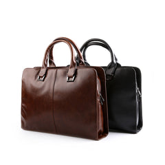 Tokyo Bags Tokyo Signature Briefcase in Black-Unisex Briefcase-Tokyo Bags-Unicorn Goods