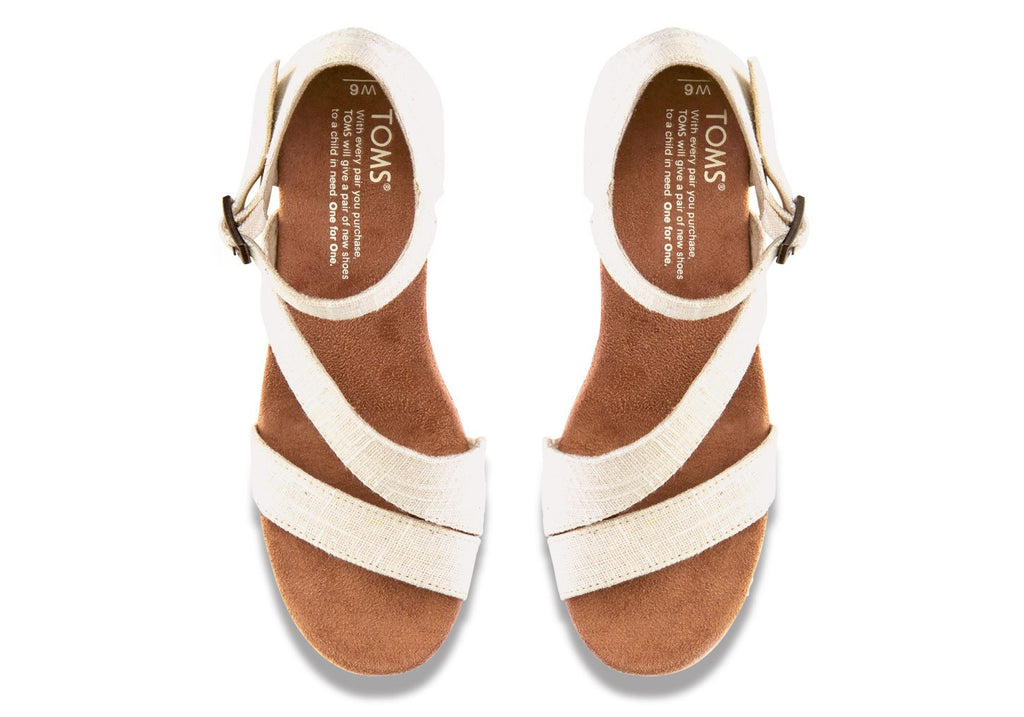 a4aeed34945 ... TOMS Women s Cork Clarissa Wedges in White-Womens Wedges-Toms-Unicorn  Goods ...
