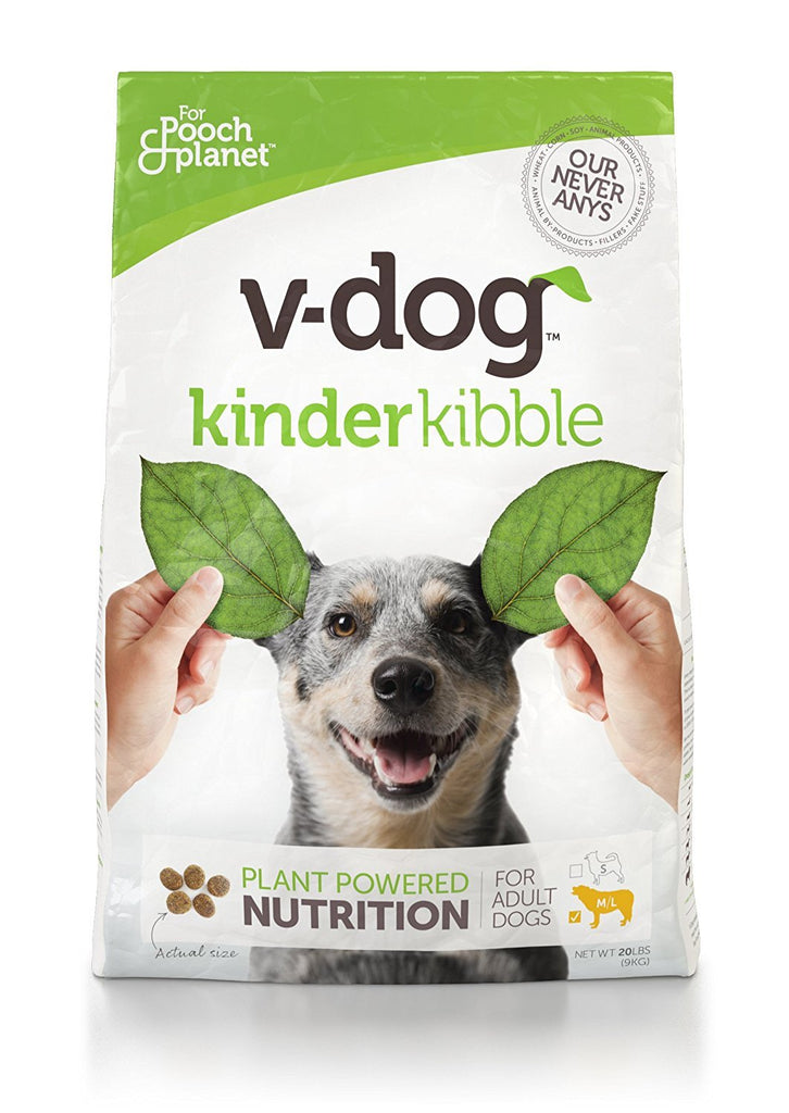 V-dog Vegan Dog Food - 20 lb Kinderkibble Bag-Pet-V-Dog-Unicorn Goods