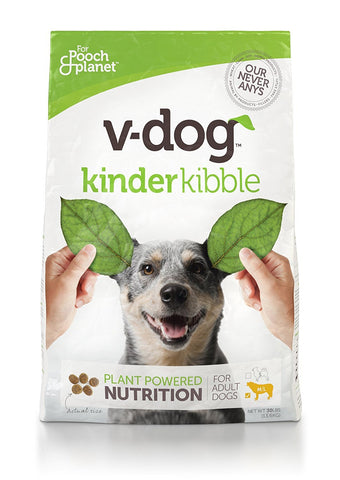 V-dog Vegan Dog Food - 30 lb Kinderkibble Bag-Pet-V-Dog-Unicorn Goods