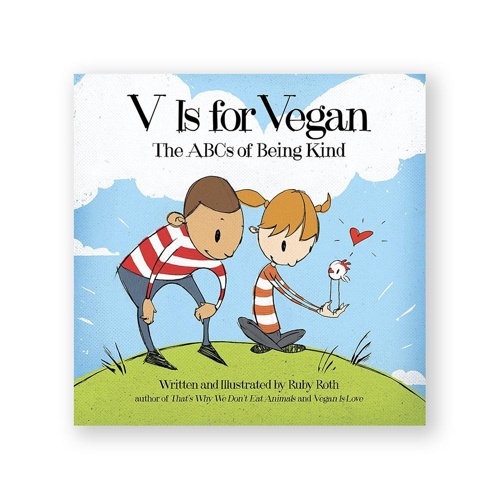 V is for Vegan-Kids - Book-Amazon-Unicorn Goods