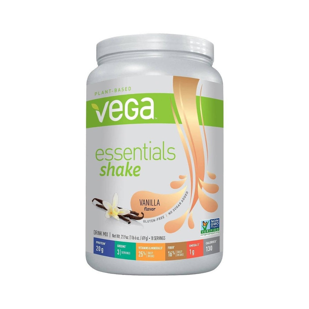 Vega Essentials Vanilla Nutritional Shake Powder-Food - Protein-Food-Unicorn Goods